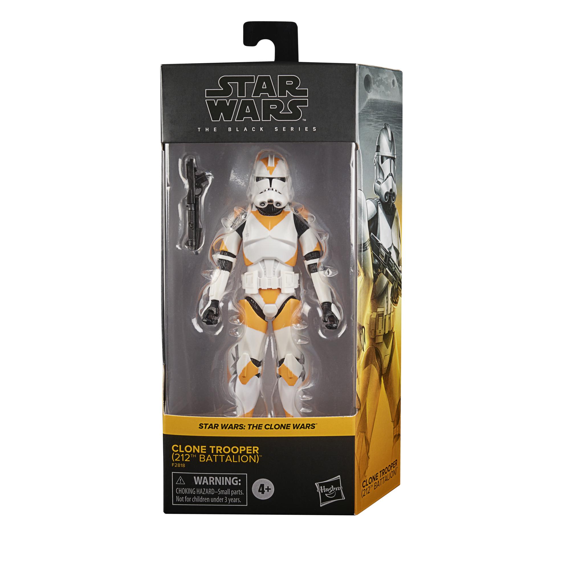 Star Wars The Black Series Clone Trooper (212 th Battalion) 6-Inch Action Figure画像