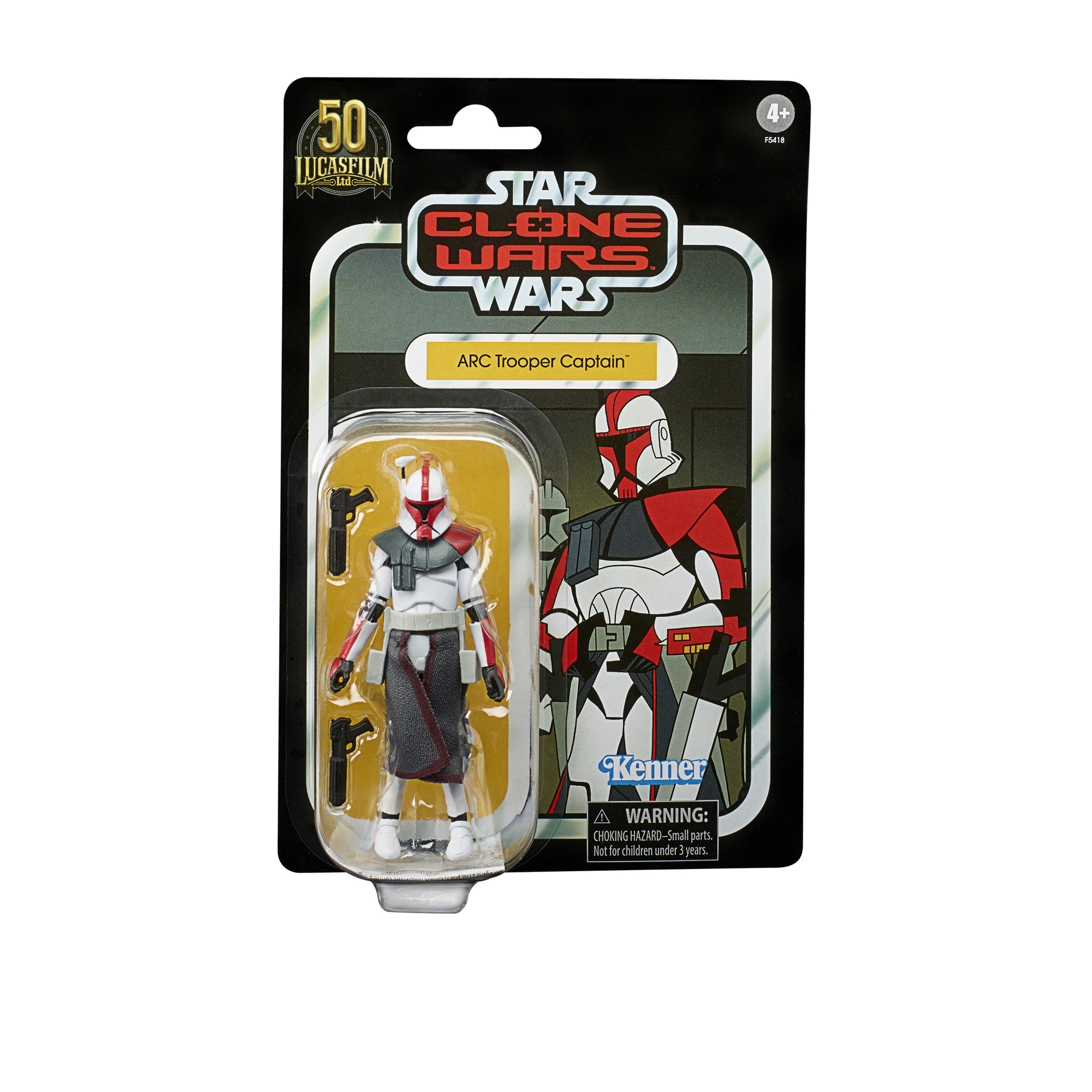 Star Wars The Vintage Collection Star Wars: Clone Wars ARC Trooper Captain 3 3/4-Inch Action Figure画像