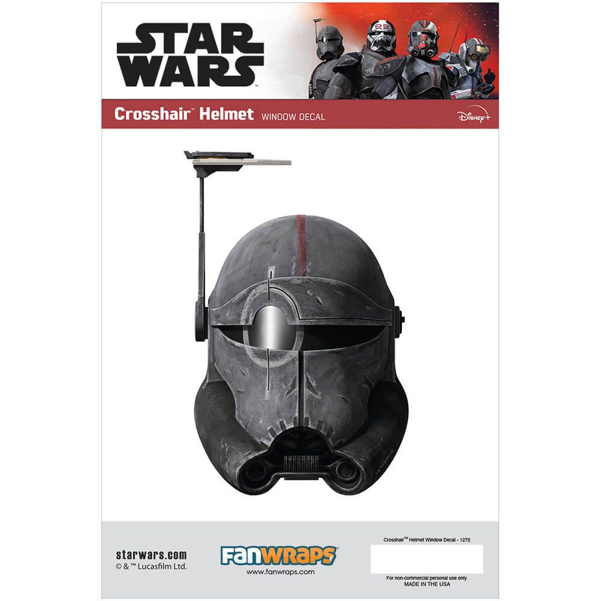 Star Wars Crosshair Helmet Window Decal画像