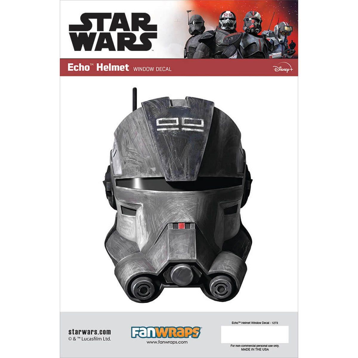 Star Wars Echo Helmet Window Decal画像