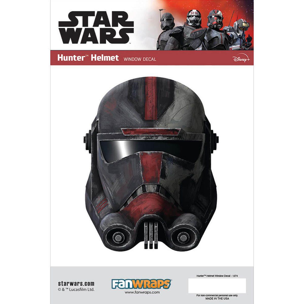 Star Wars Hunter Helmet Window Decal画像