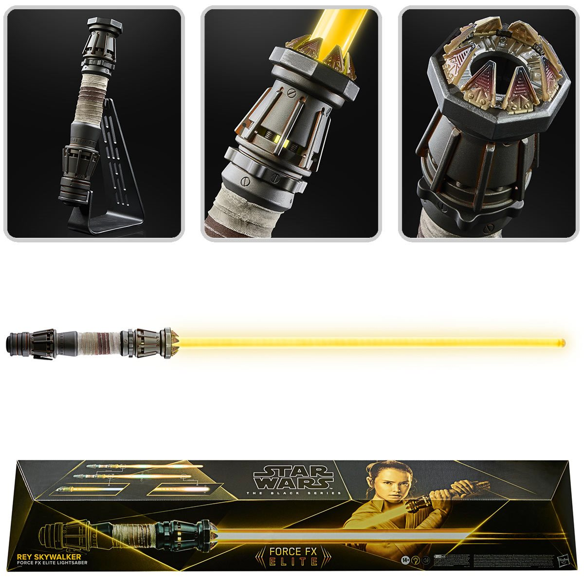 Star Wars The Black Series Rey Force FX Lightsaber画像