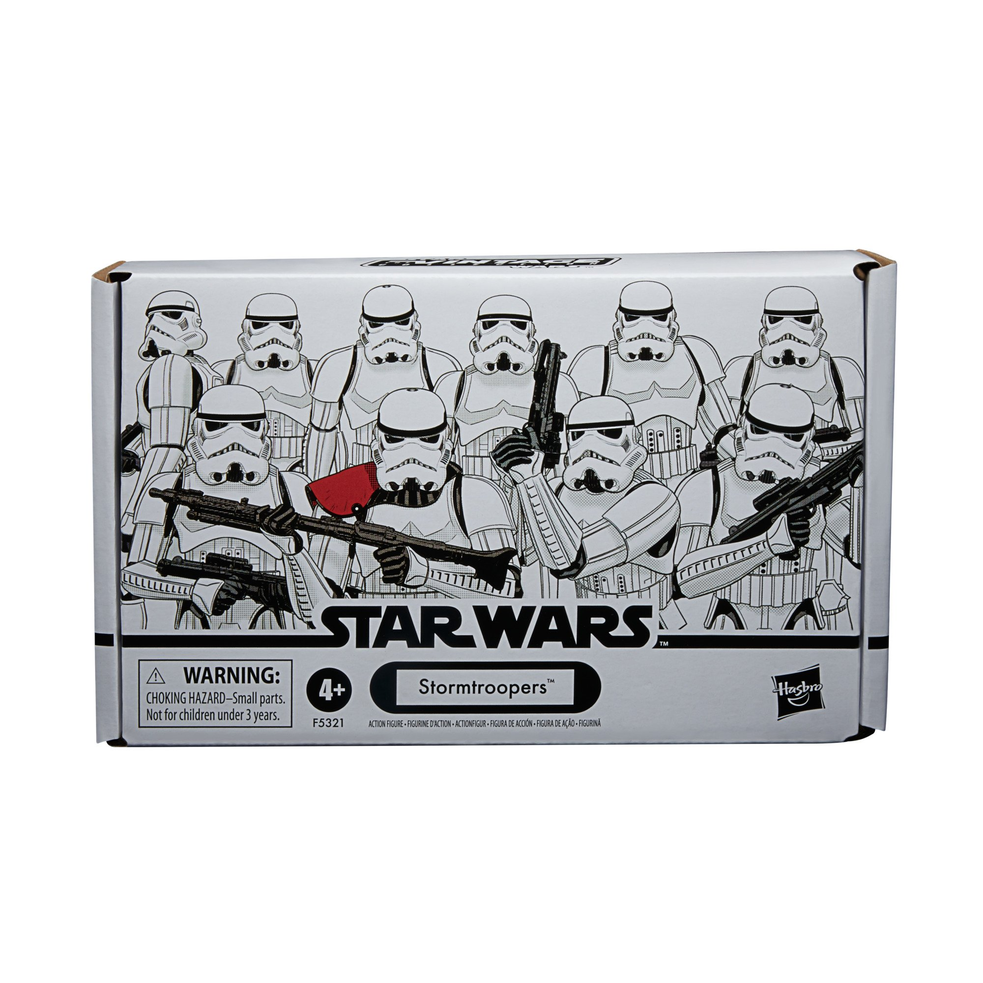 Star Wars The Vintage Collection Stormtrooper 3 3/4-Inch Action Figure 4-Pack画像