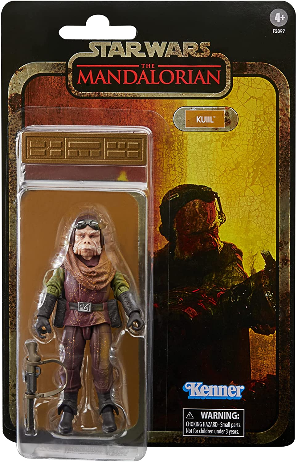 Star Wars The Black Series Credit Collection Kuill 6-Inch Action Figure画像