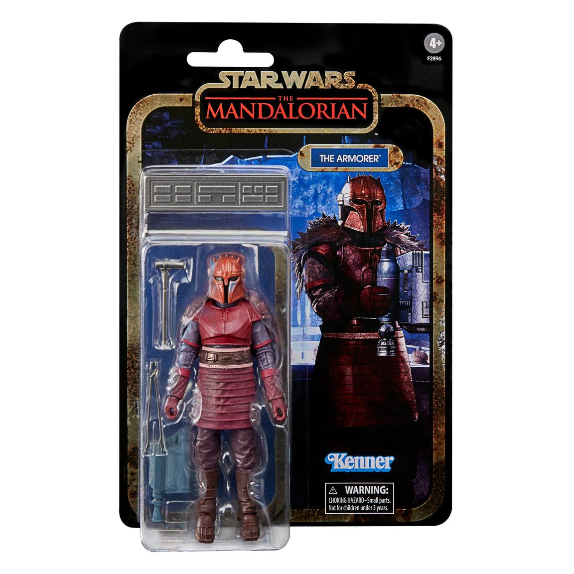 Star Wars The Black Series Credit Collection The Armorer 6-Inch Action Figure画像