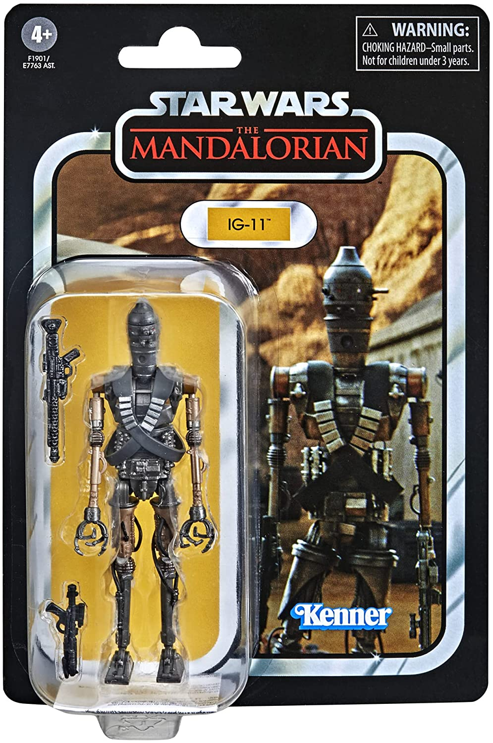Star Wars The Vintage Collection IG-11 3 3/4-Inch Action Figure画像