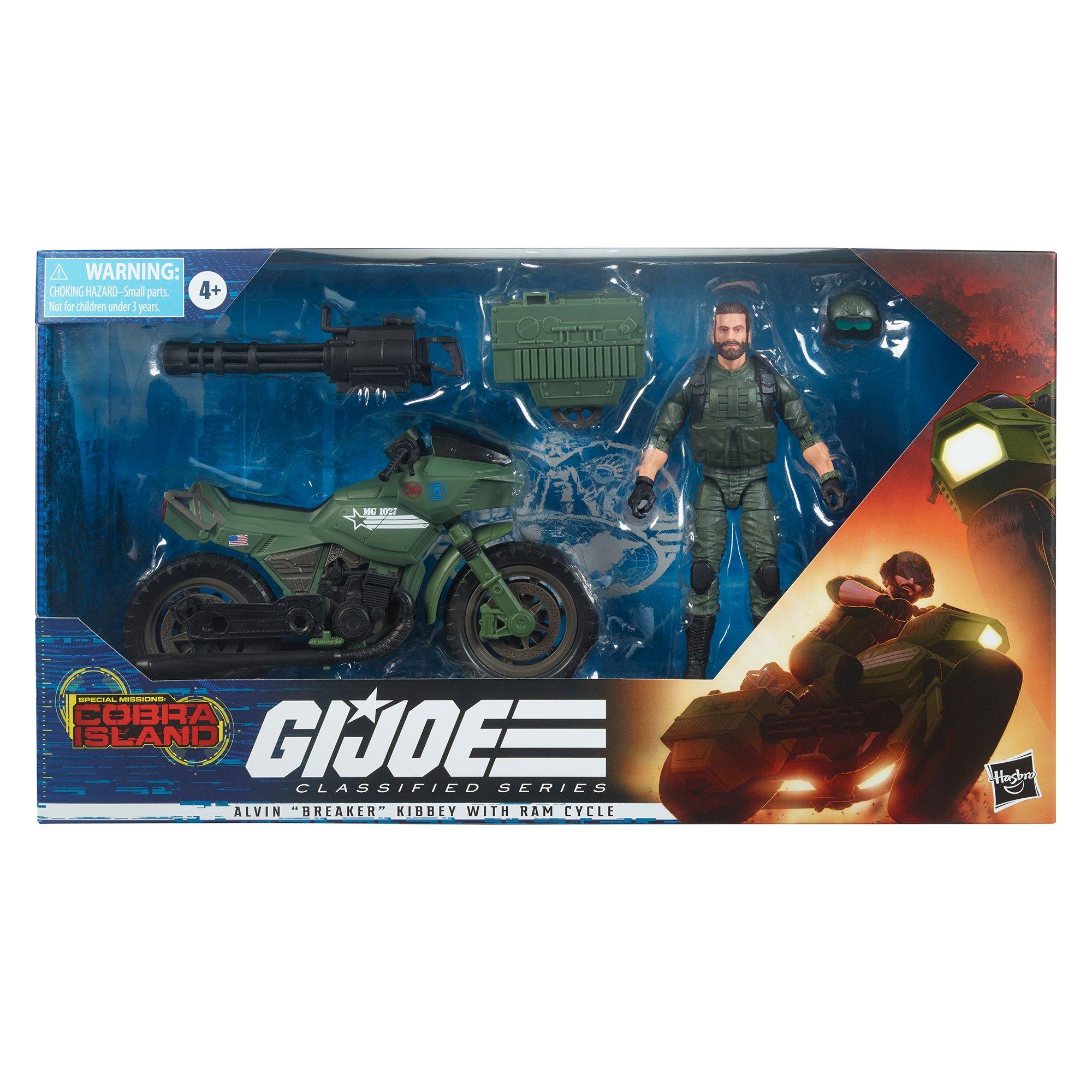 G.I. Joe Classified Series Breaker Action Figure画像