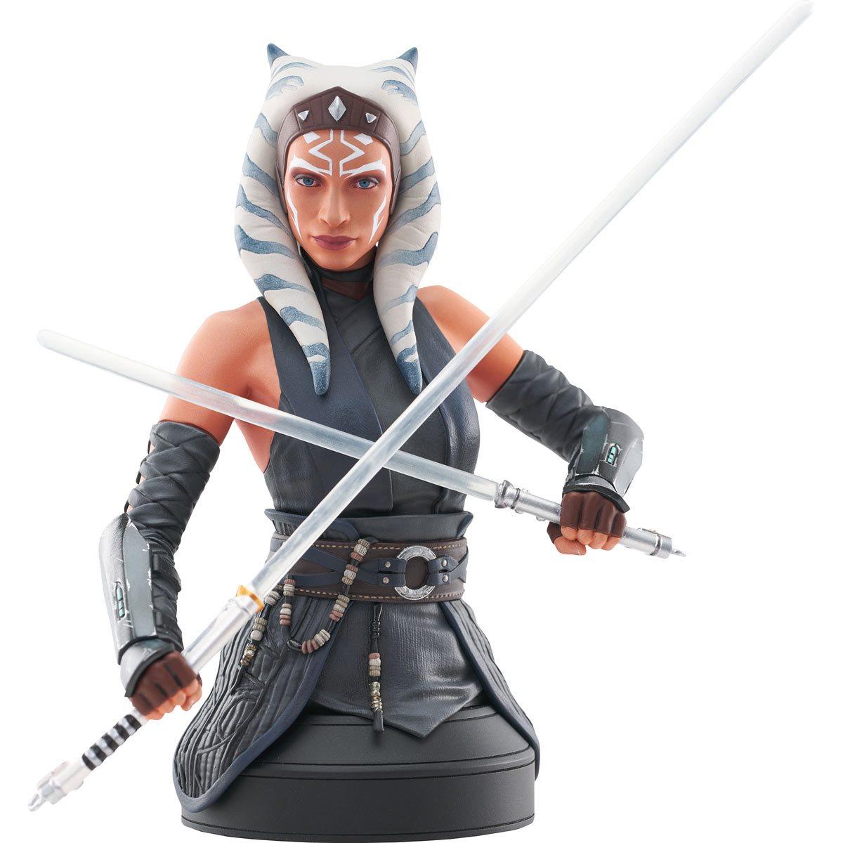 Star Wars The Mandalorian Ahsoka Tano 1:6 Scale Mini-Bust画像