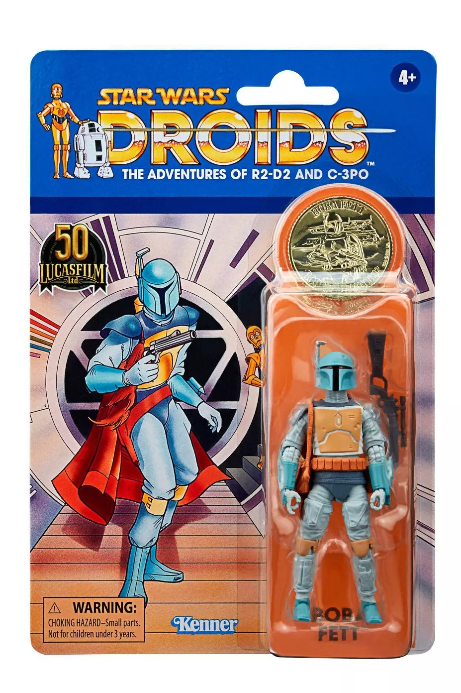 Star Wars The Vintage Collection DROIDS The Adventures Boba Fett 3 3/4-Inch Action Figure画像