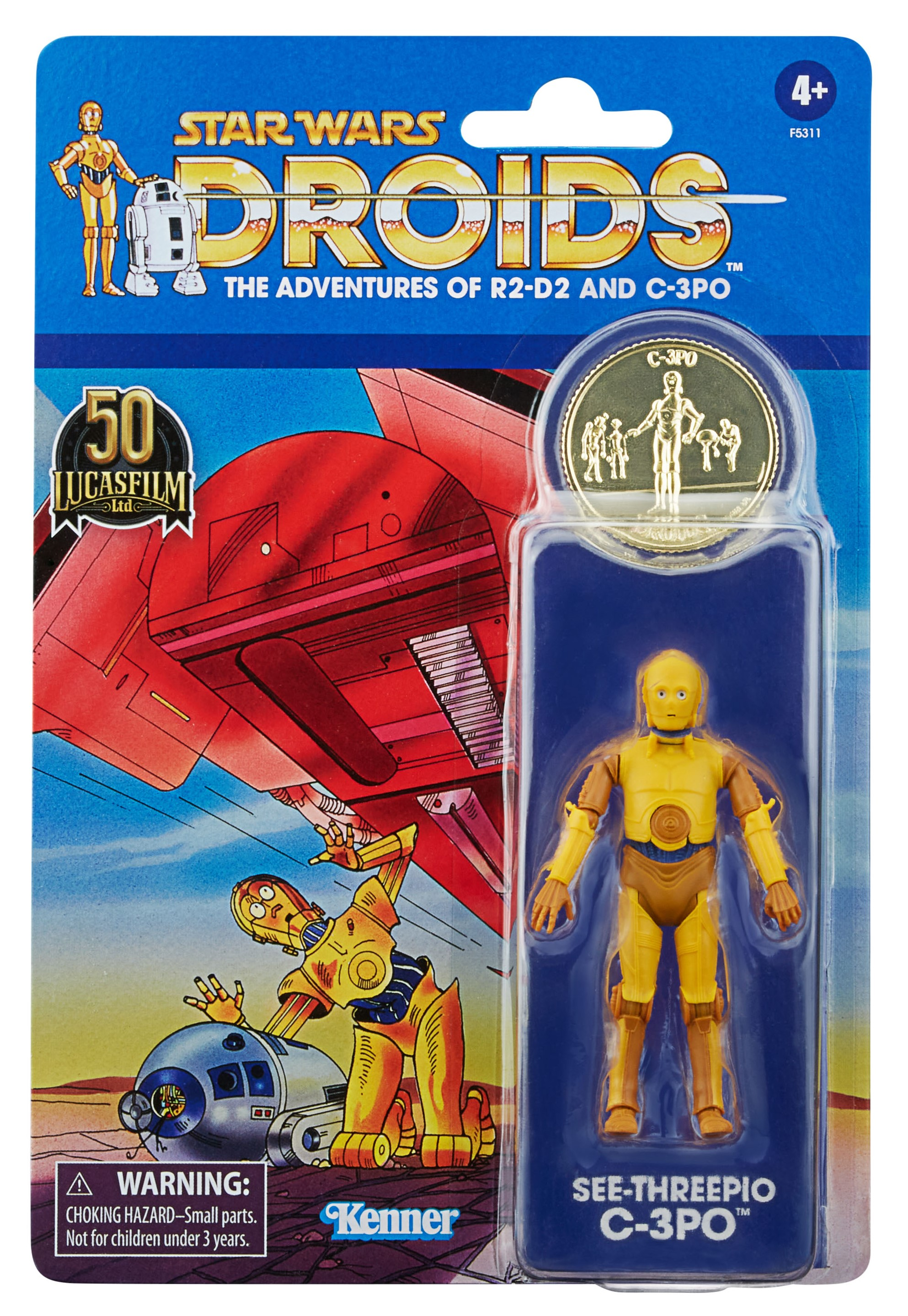 Star Wars The Vintage Collection DROIDS The Adventures C-3PO 3 3/4-Inch Action Figure画像
