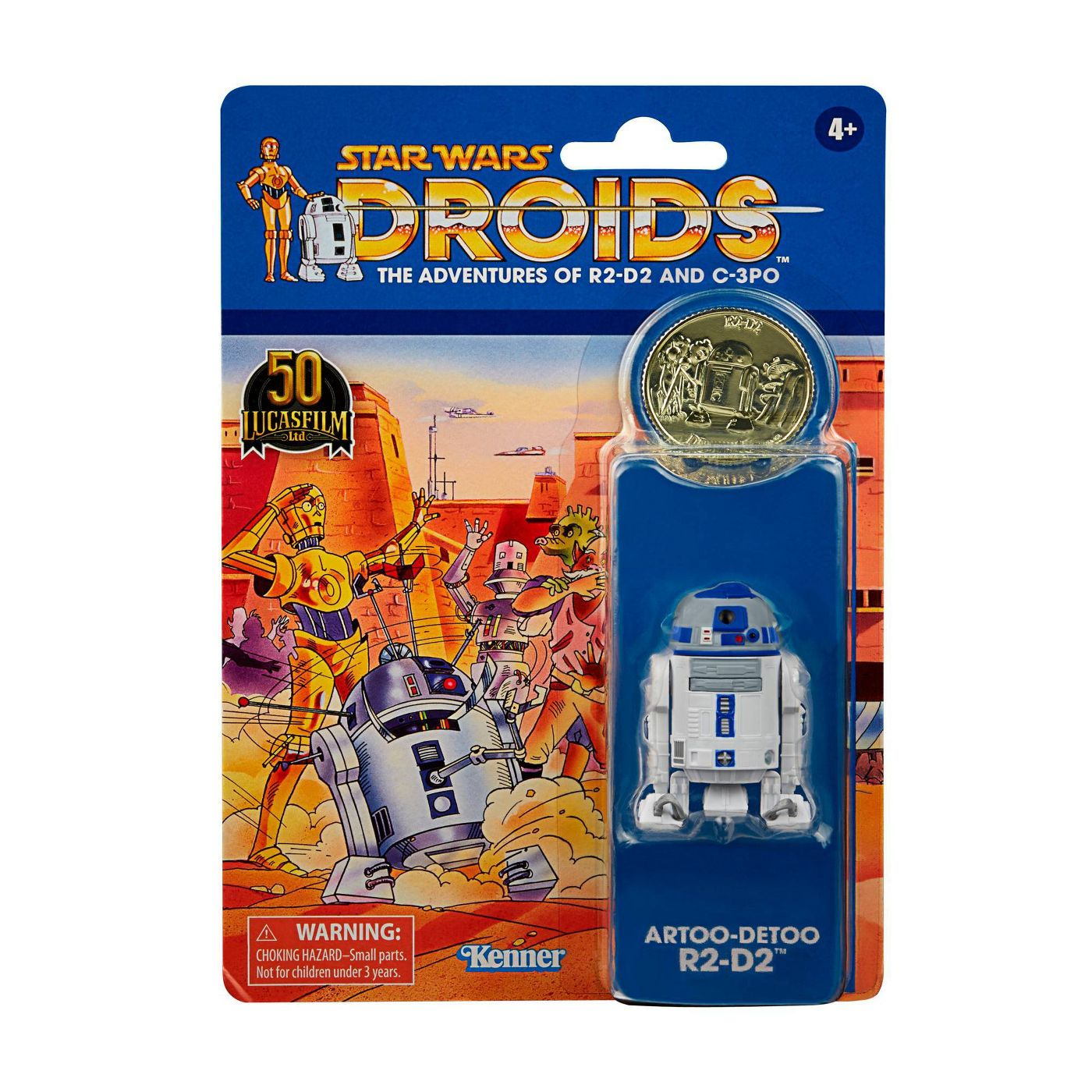 Star Wars The Vintage Collection DROIDS The Adventures R2-D2 3 3/4-Inch Action Figure画像