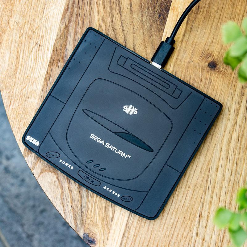 SEGA Saturn Console Wireless Charging Mat画像
