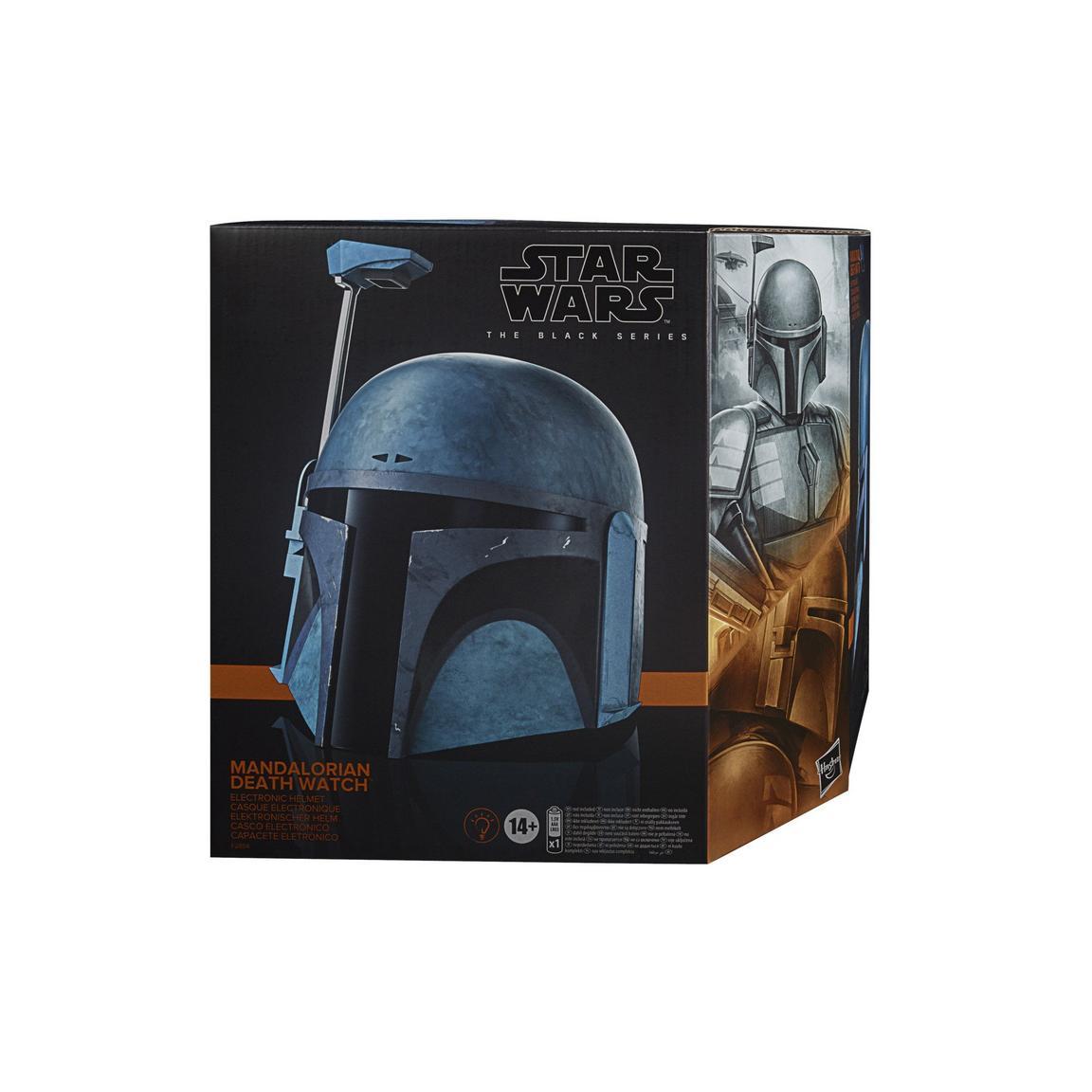 Star Wars The Black Series The Mandalorian Death Watch electronic Helmet画像