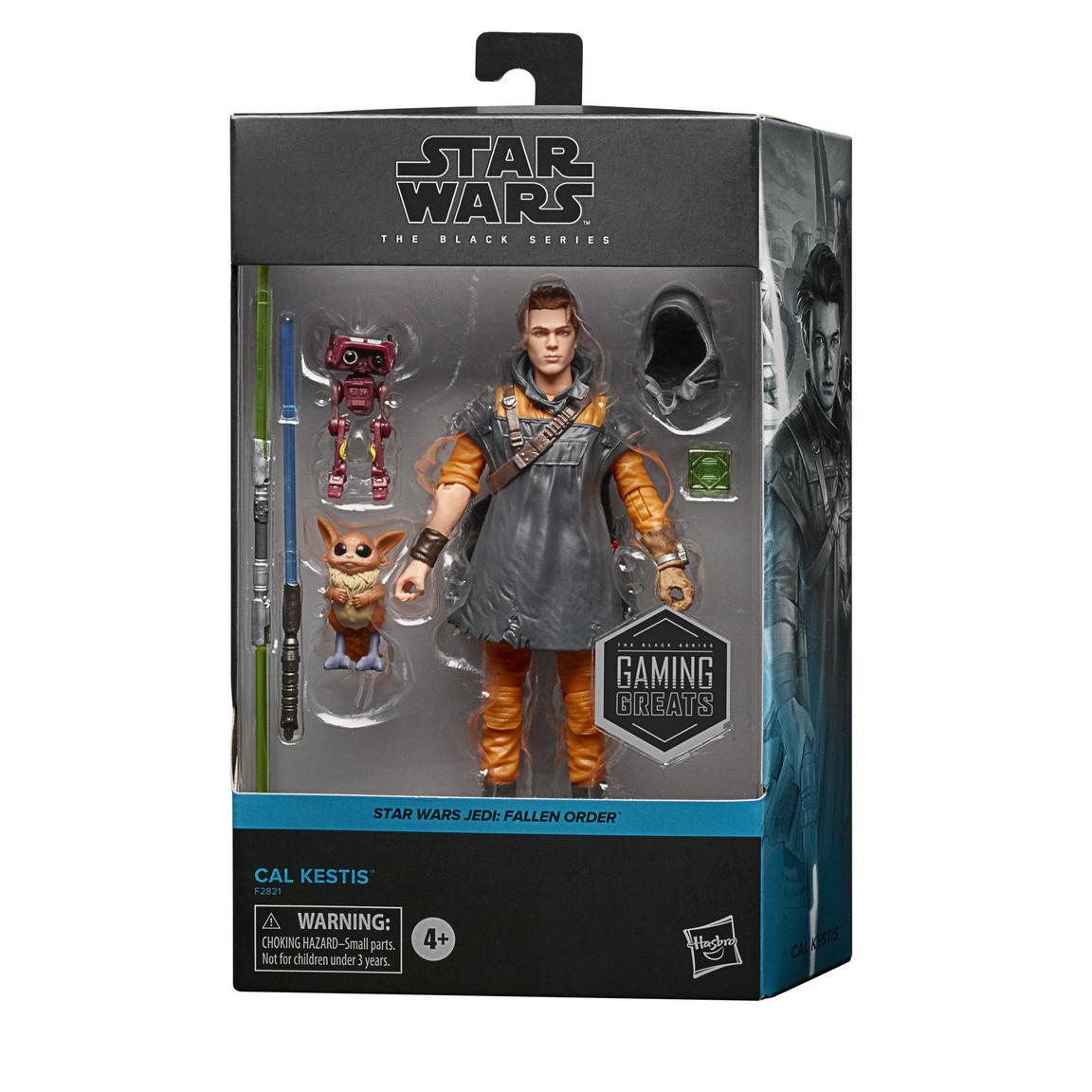 Star Wars The Black Series Jedi: Fallen Order Cal Kestis Deluxe 6-in Action Figure画像