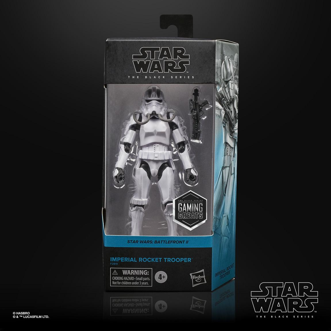 Star Wars The Black Series SWBFII Imperial Rocket Trooper 6-inch Action Figure画像