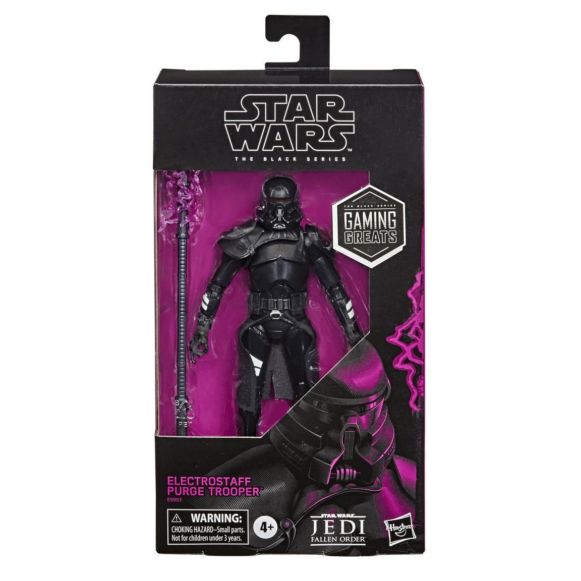 Star Wars The Black Series Jedi: Fallen Order Electrostaff Purge Trooper 6-inch画像