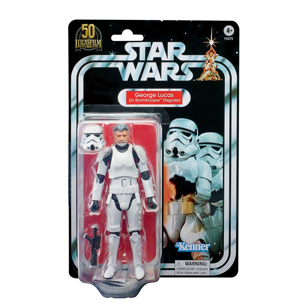 Star Wars The Black Series George Lucas Stormtrooper 6-Inch Action Figure画像