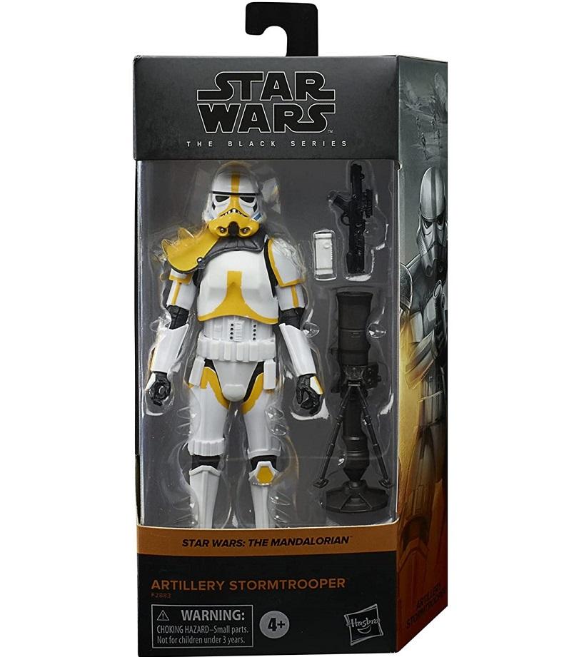 Star Wars The Black Series Artillery Stormtrooper 6-inch Action Figure画像