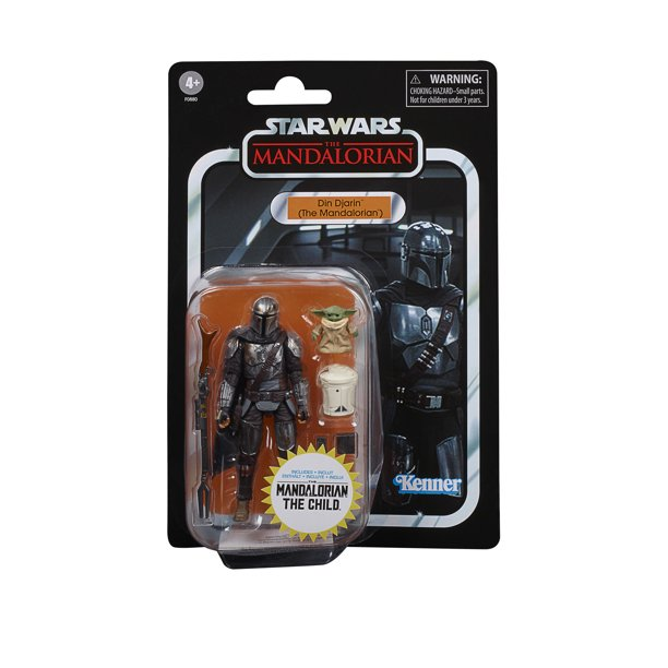 Star Wars The Vintage Collection The Mandalorian Din Djarin with The Child画像
