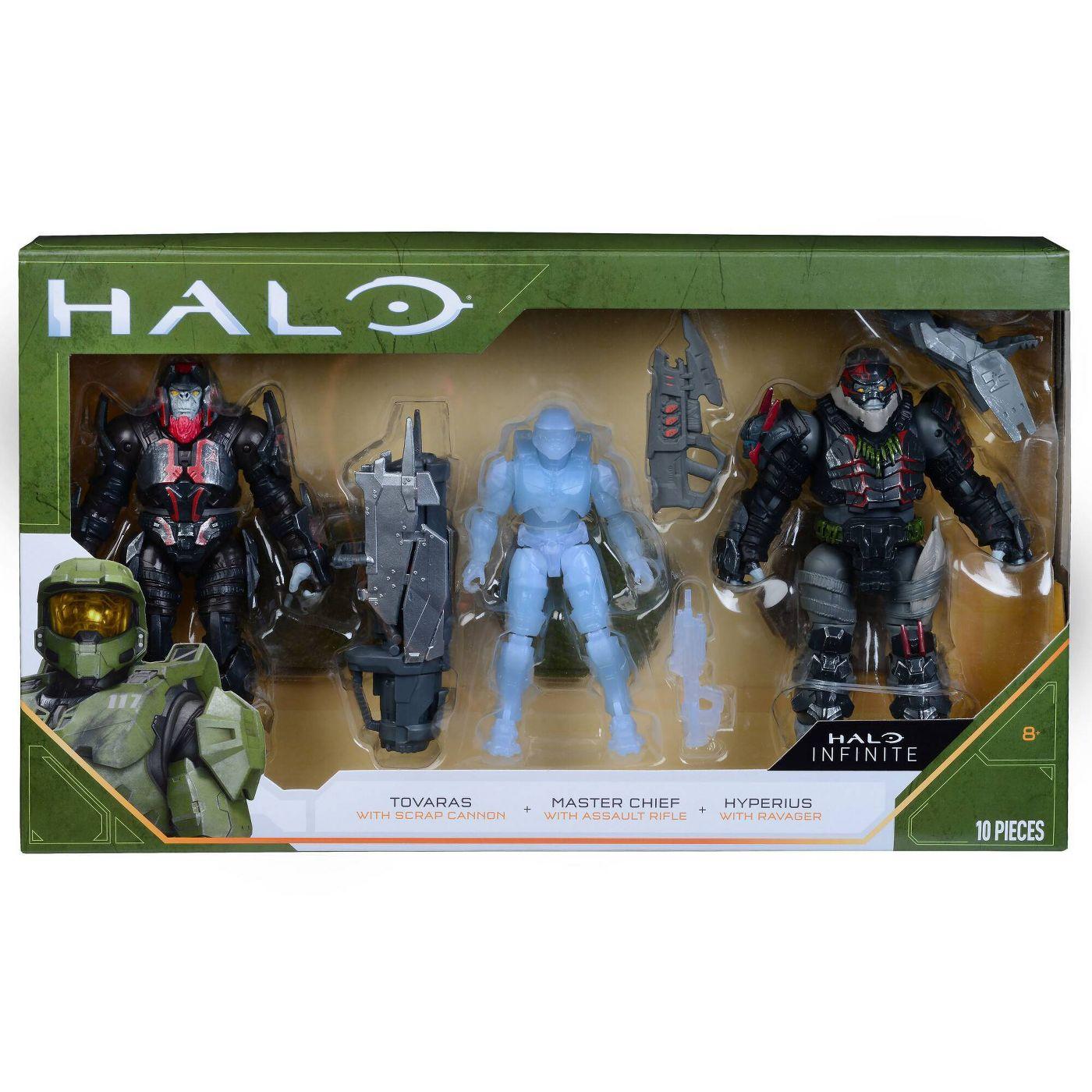 World of Halo Halo Infinite 3 Figure Pack画像