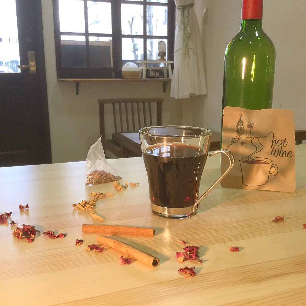 206 レンジで簡単!HOTワインの画像